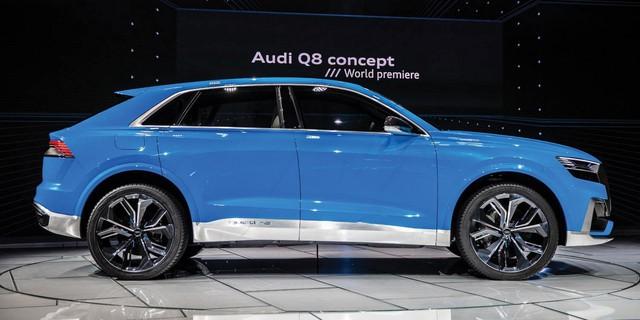 Audi xác nhận ra mắt SUV đầu bảng Q8 vào tháng 6 - Ảnh 1.