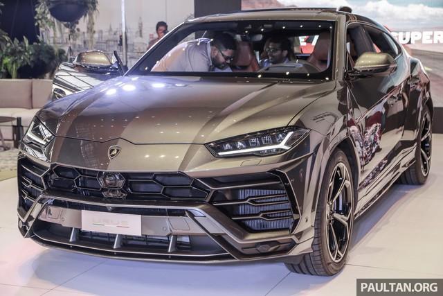 Siêu SUV Lamborghini Urus ra mắt tại Malaysia, giá khoảng 255.000 USD - Ảnh 1.