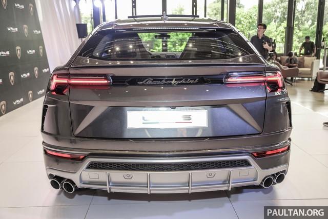 Siêu SUV Lamborghini Urus ra mắt tại Malaysia, giá khoảng 255.000 USD - Ảnh 9.