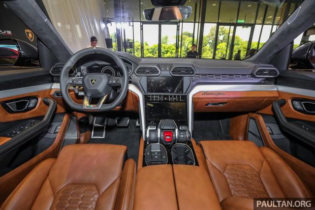 Siêu SUV Lamborghini Urus ra mắt tại Malaysia, giá khoảng 255.000 USD - Ảnh 6.