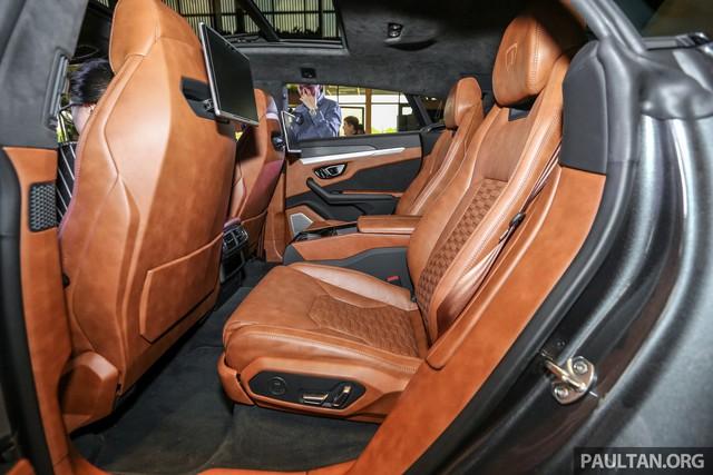 Siêu SUV Lamborghini Urus ra mắt tại Malaysia, giá khoảng 255.000 USD - Ảnh 15.