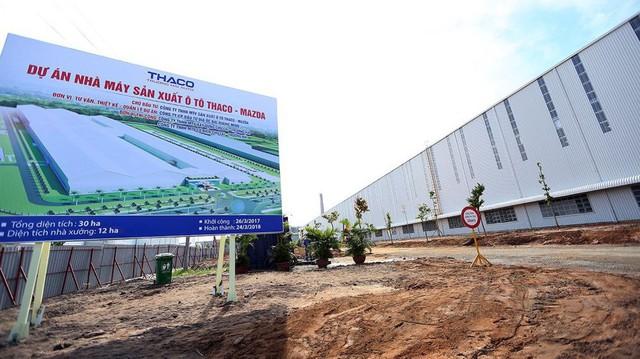 THACO sắp khánh thành nhà máy Mazda lớn nhất Đông Nam Á