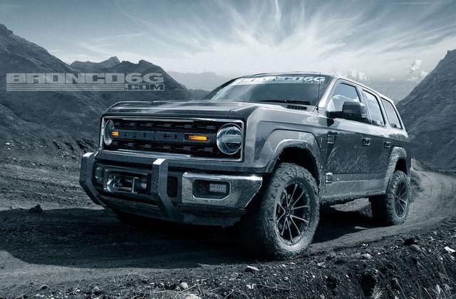 Những điều cần biết về Ford Bronco - SUV chung khung gầm Ranger, đấu Toyota 4Runner - Ảnh 1.