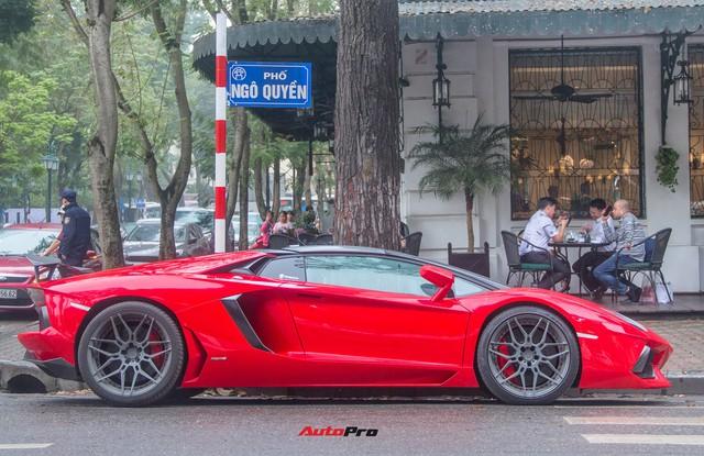 Lamborghini Aventador Roadster độ cánh gió, mâm ADV.1 tại Hà Nội - Ảnh 22.