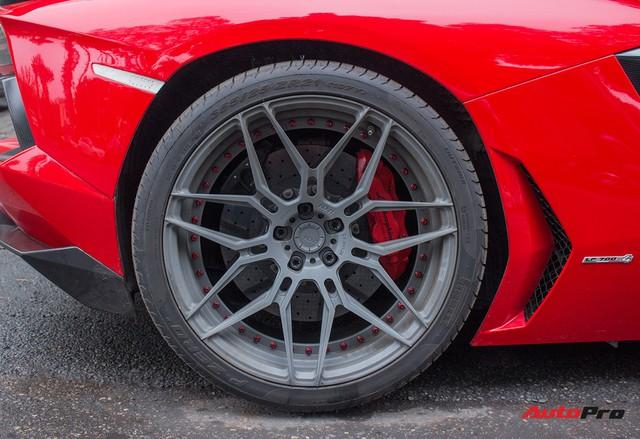 Lamborghini Aventador Roadster độ cánh gió, mâm ADV.1 tại Hà Nội - Ảnh 2.