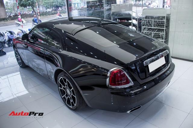 Rolls-Royce Wraith dán decal đổi màu phong cách Black Badge tại Hà Nội - Ảnh 11.