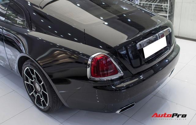 Rolls-Royce Wraith dán decal đổi màu phong cách Black Badge tại Hà Nội - Ảnh 18.