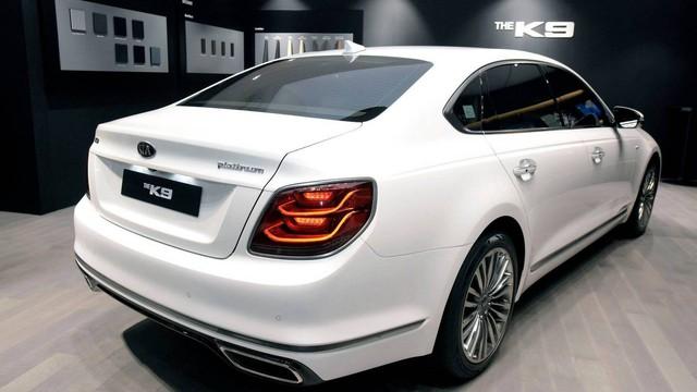 Chính thức ra mắt Kia K9 - Xe Hàn tham vọng chung mâm Mercedes-Benz S-Class - Ảnh 2.