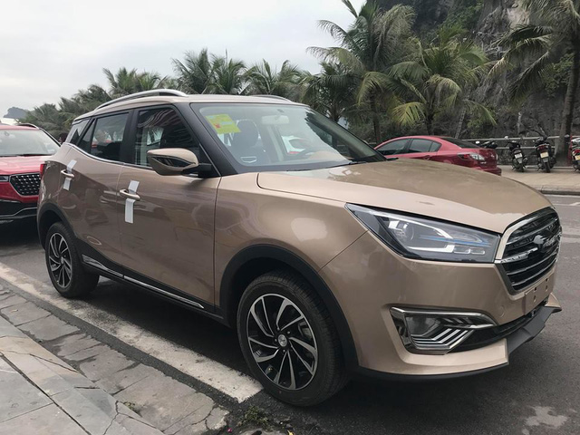 Zotye T300 - Xe Trung Quốc cạnh tranh Ford EcoSport với giá thấp hơn 250 triệu đồng - Ảnh 3.