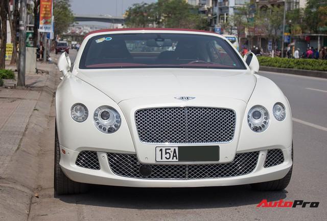 Hàng hiếm Bentley Continental GT Convertible Mulliner của đại gia Hải Phòng - Ảnh 2.