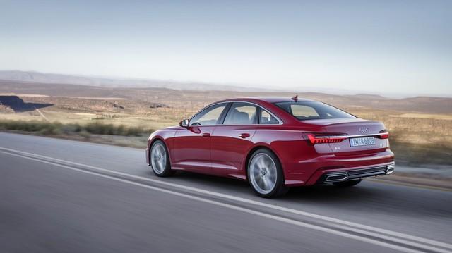 Audi sẵn sàng tung ra A6 V6 tăng áp mới