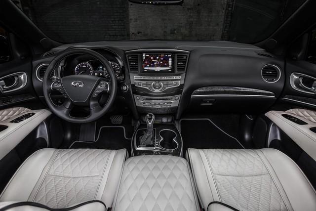 Infiniti QX60 Monograph cận kề ngày ra mắt: SUV sang 7 chỗ tham vọng đấu Audi Q7 - Ảnh 2.