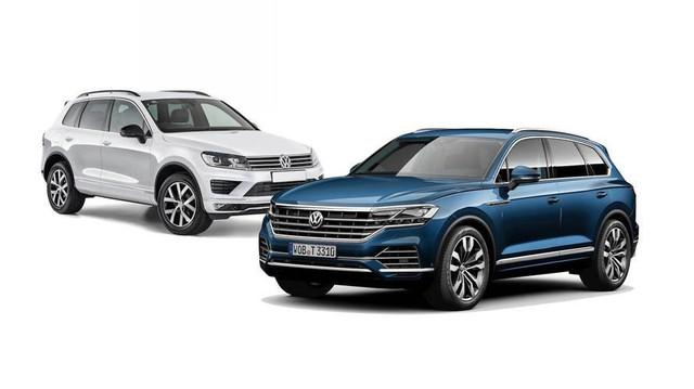 Volkswagen Touareg 2019 lột xác thế nào so với thế hệ trước?