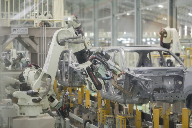 Khám phá bên trong nhà máy THACO Mazda lớn nhất Đông Nam Á - Ảnh 12.
