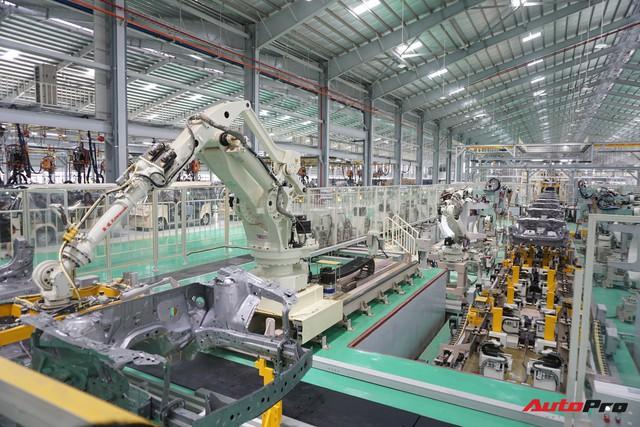 Khám phá bên trong nhà máy THACO Mazda lớn nhất Đông Nam Á - Ảnh 17.