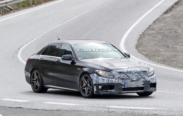 Mercedes-Benz xác nhận trình làng C63 AMG mới tại New York - Ảnh 2.