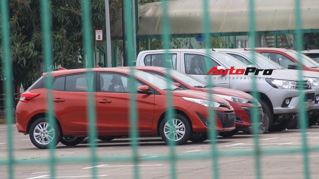 Toyota Yaris 2018 nhập khẩu từ Thái Lan đã có mặt tại Việt Nam