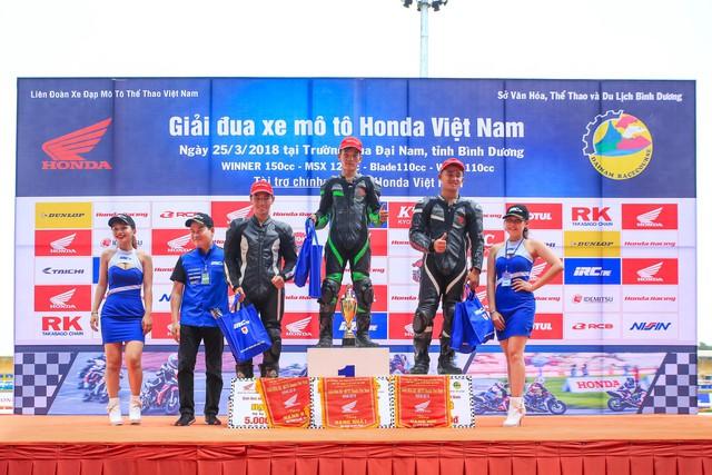 Honda Việt Nam khởi động giải đua mô tô cúp vô địch quốc gia 2018 - Ảnh 8.