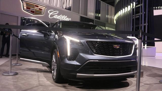 Cadillac XT4 2019 lộ diện hoàn toàn tại New York Auto Show 2018 - Ảnh 14.