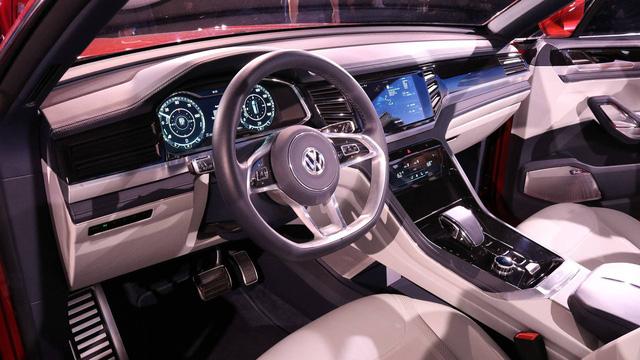Volkswagen Atlas Cross Sport - Bản concept của mẫu SUV 5 chỗ hoàn toàn mới - Ảnh 7.