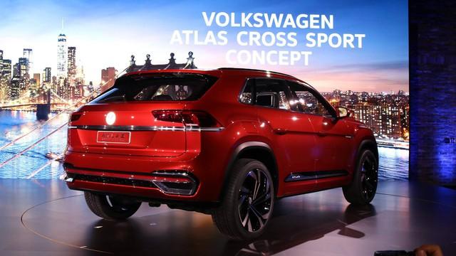 Volkswagen Atlas Cross Sport - Bản concept của mẫu SUV 5 chỗ hoàn toàn mới - Ảnh 5.
