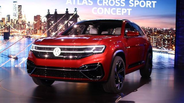 Volkswagen Atlas Cross Sport - Bản concept của mẫu SUV 5 chỗ hoàn toàn mới - Ảnh 3.