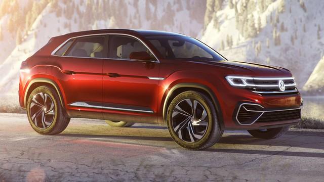 Volkswagen Atlas Cross Sport - Bản concept của mẫu SUV 5 chỗ hoàn toàn mới - Ảnh 1.