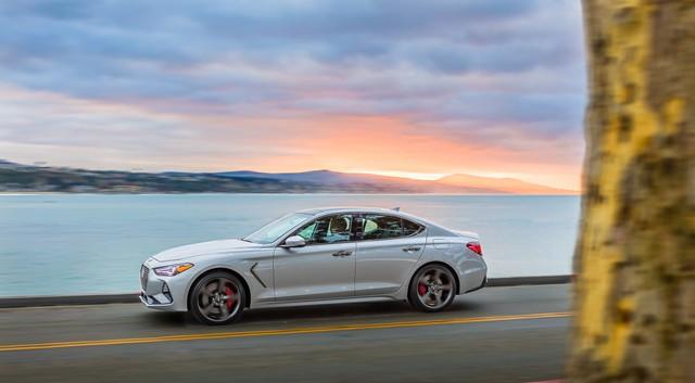 Ra mắt Genesis G70 2019: Kỳ phùng địch thủ của BMW 3-Series - Ảnh 2.