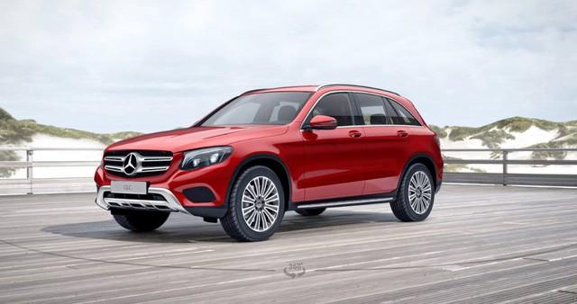 Mercedes-Benz GLC thêm bản mới, tăng giá bán tại Việt Nam - Ảnh 1.