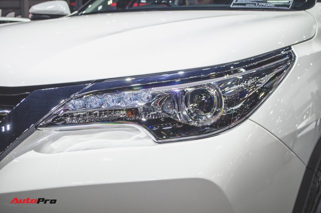 Chi tiết Toyota Fortuner TRD Sportivo 2018 vừa ra mắt - Ảnh 3.