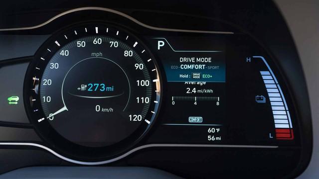Hyundai Kona động cơ điện: Sạc một lần, chạy hơn 400 km - Ảnh 10.