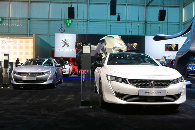Ảnh thực tế Peugeot 508 thế hệ mới - Ảnh 1.