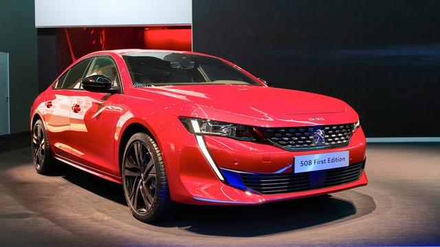 Ảnh thực tế Peugeot 508 thế hệ mới