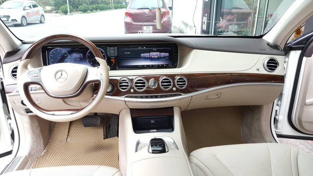 Đi hơn 15.000km, Mercedes-Benz S400 2015 được rao bán lại giá 3,1 tỷ đồng - Ảnh 6.