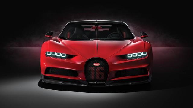 Bugatti Chiron thêm phiên bản mới: Giảm trọng lượng, thay giảm xóc và tút tát thiết kế - Ảnh 4.