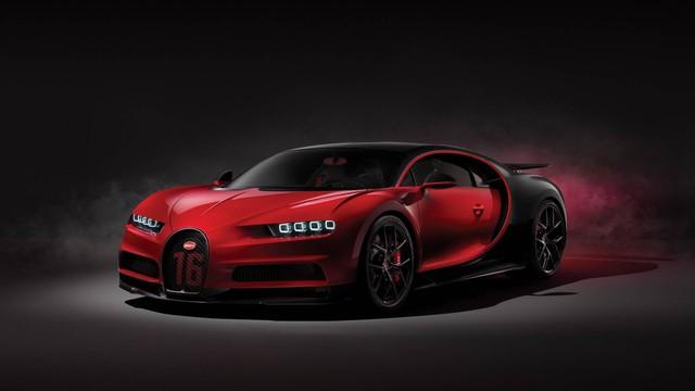 Bugatti Chiron thêm phiên bản mới: Giảm trọng lượng, thay giảm xóc và tút tát thiết kế - Ảnh 1.