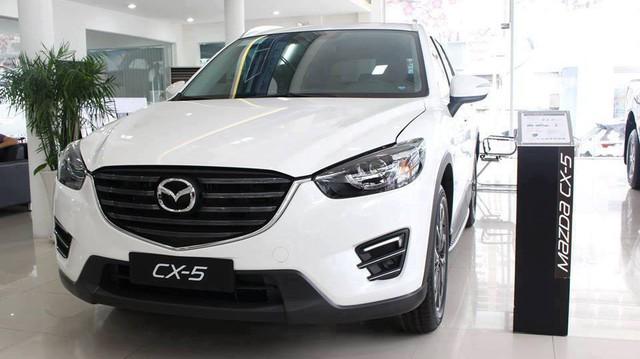 Mazda CX-5 đồng loạt tăng giá