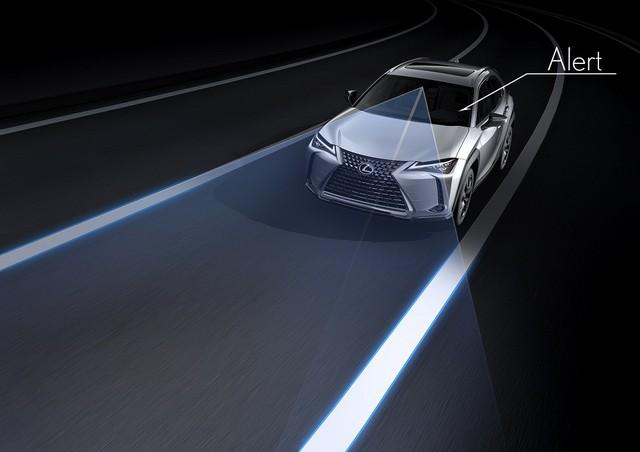 Lexus UX - Câu trả lời của người Nhật với BMW X1 - Ảnh 8.