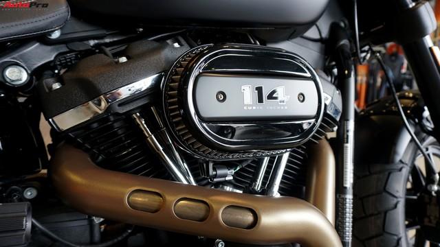 [Video] Cận cảnh Harley-Davidson Fat Bob 2018 giá gần 1 tỷ đồng tại Hà Nội - Ảnh 9.