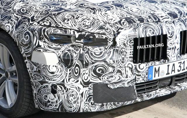 BMW 7-Series mới lộ diện: Lưới tản nhiệt hình quả thận đã thay đổi - Ảnh 2.