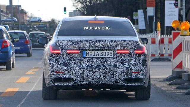 BMW 7-Series mới lộ diện: Lưới tản nhiệt hình quả thận đã thay đổi - Ảnh 3.
