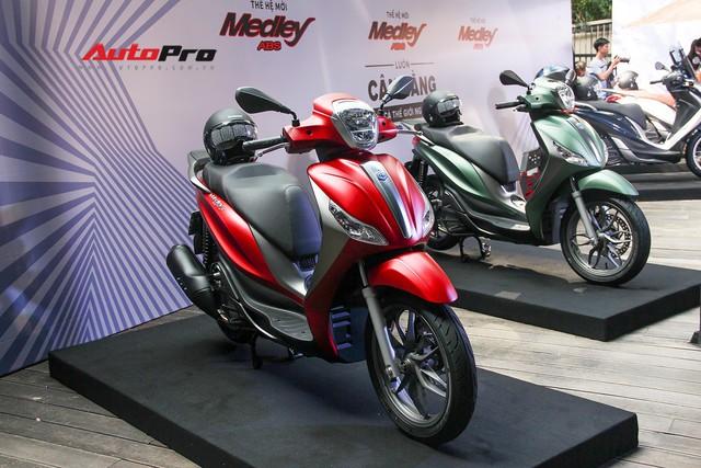Quyết đấu Honda SH, Piaggio Medley ABS 2018 giá từ 72,5 triệu đồng - Ảnh 13.