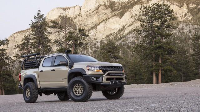 Chevrolet Colorado ZR2 Bison - Đối thủ mới của Ford Ranger Raptor