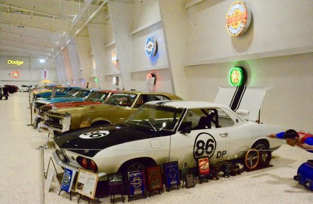 Bảo tàng xe cơ bắp Mỹ: Nơi có tiền cũng không thể vào thăm - Ảnh 11.