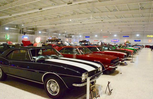 Bảo tàng xe cơ bắp Mỹ: Nơi có tiền cũng không thể vào thăm - Ảnh 10.