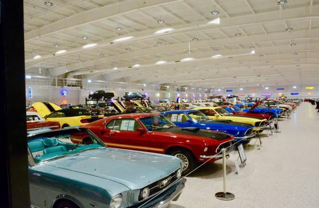 Bảo tàng xe cơ bắp Mỹ: Nơi có tiền cũng không thể vào thăm - Ảnh 4.