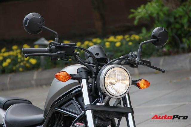 Ảnh chi tiết Honda Rebel 300 giá bán chính hãng 125 triệu đồng - Ảnh 4.