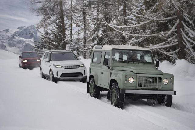 Người đàn ông bước 20.894 trên tuyết để vẽ hình Land Rover - Ảnh 5.