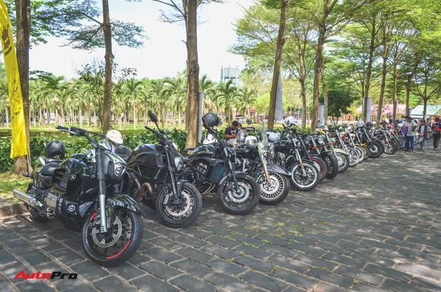 Hàng trăm mô tô phân khối lớn tham gia đại hội tại Đồng Nai - Ảnh 1.