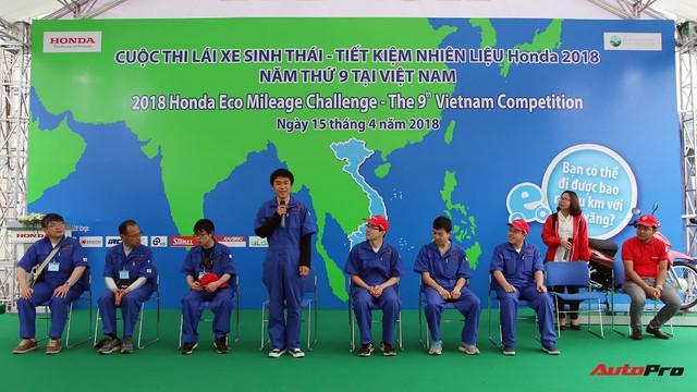 Xe tự chế của sinh viên Việt Nam đi được gần 587 km/lít xăng - Ảnh 11.